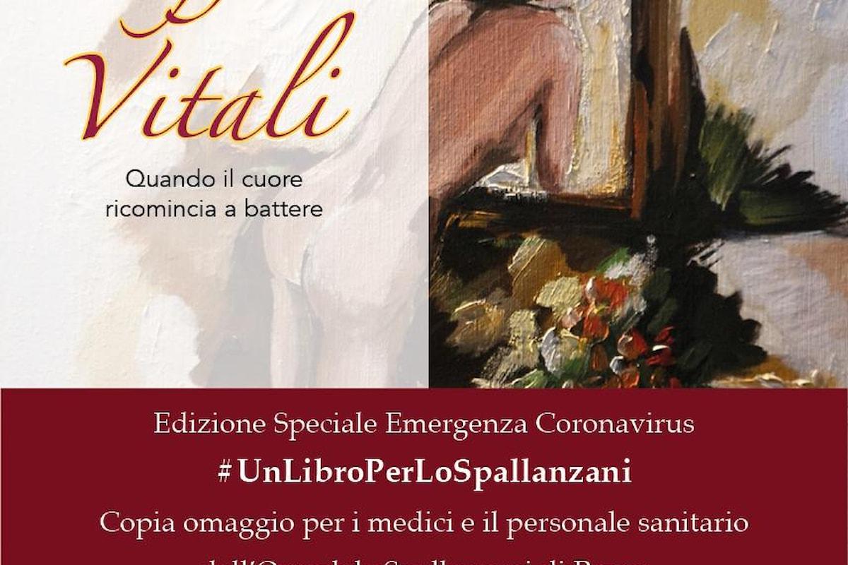 Claudia Conte e il suo libro Soffi vitali approda allo Spallanzani di Roma