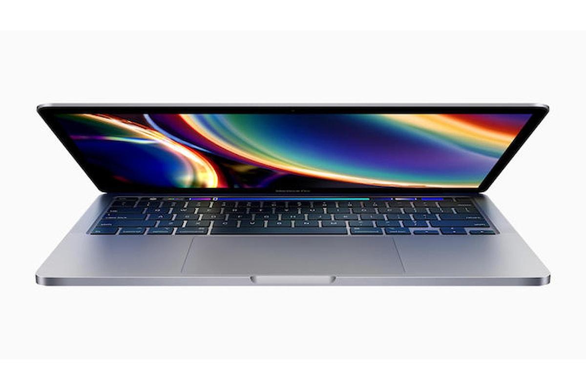 Ecco il MacBook Pro 13 pollici, l'ultimo nato della famiglia di portatili della Mela