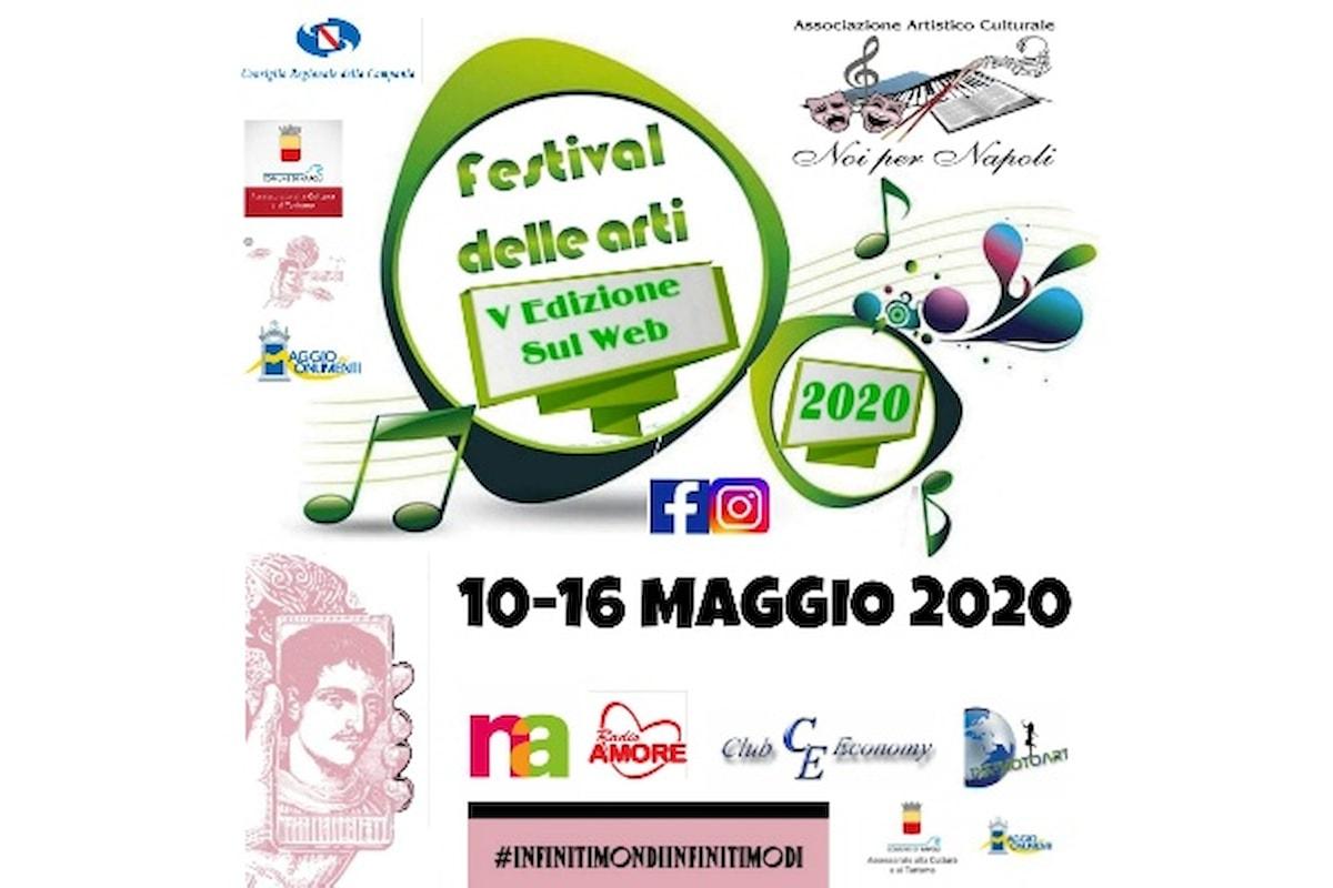 Festival delle Arti Noi per Napoli, V Edizione sul Web: tantissimi gli artisti partecipanti