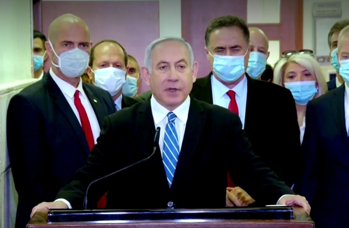 A Gerusalemme è iniziato il processo a Bibi, re di Israele