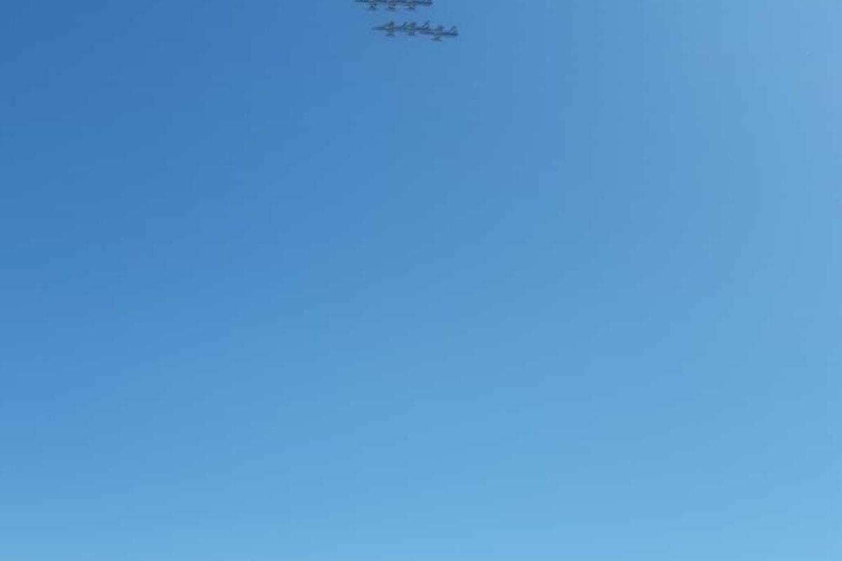 Cagliari: le Frecce Tricolori hanno emozionato la città