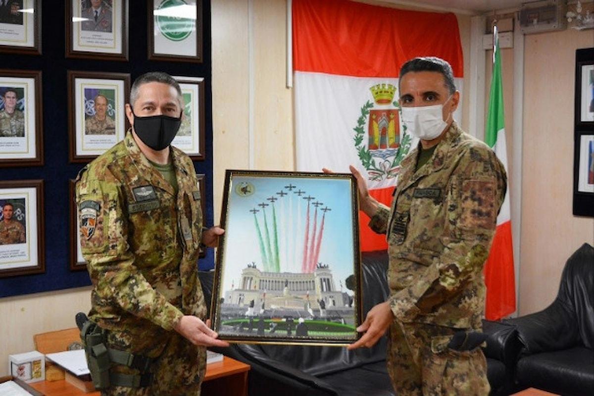 Afghanistan: passaggio di consegne al CAI-I della missione del contingente italiano