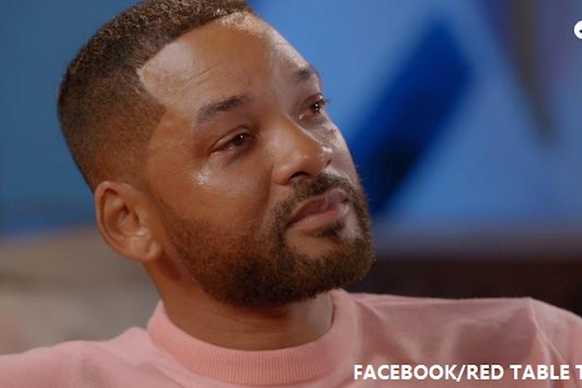 """Will Smith choc: """"Mio padre picchiava me e mia madre"""""""