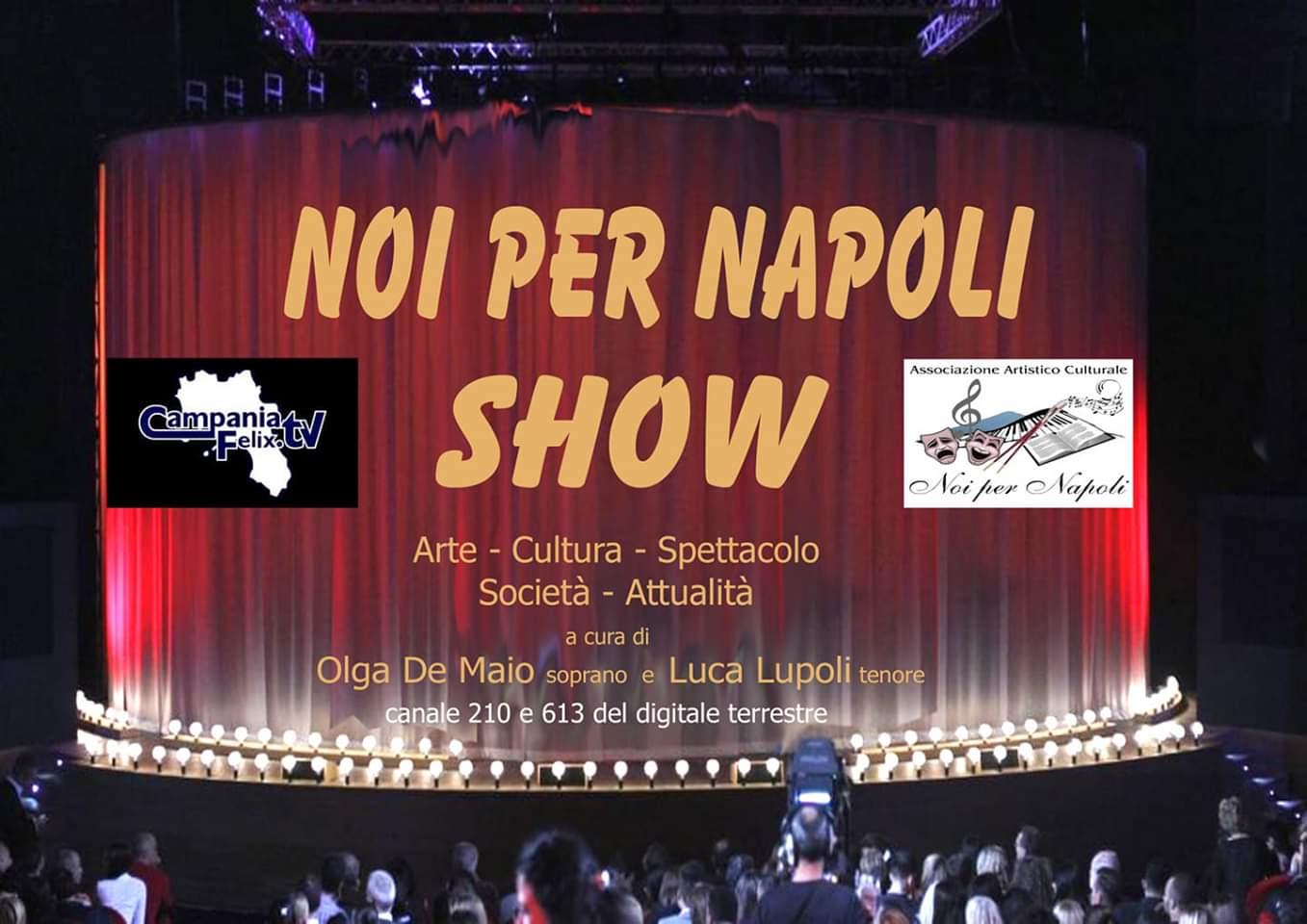 Noi per Napoli Show in Tv