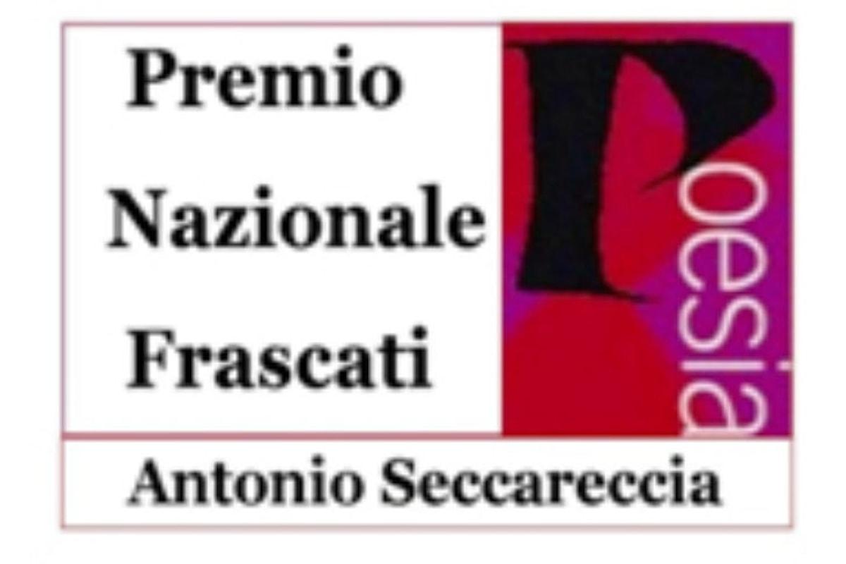 60.ma Edizione Premio Nazionale Frascati Poesia Antonio Seccareccia