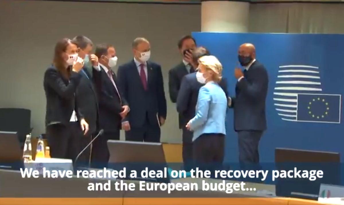 Consiglio europeo: dopo 5 giorni raggiunto l'accordo su Recovery Fund e Bilancio Ue