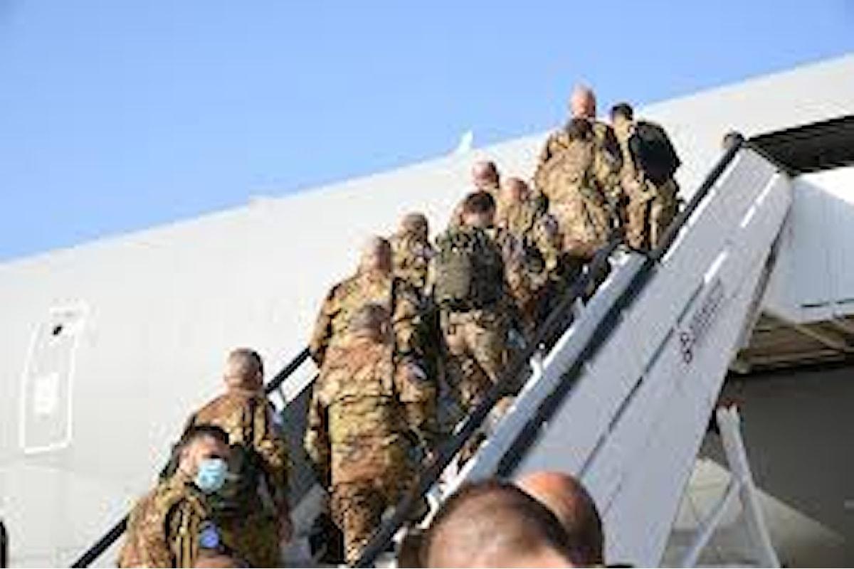Libano: i militari della Brigata Sassari sono partiti in missione UNIFIL