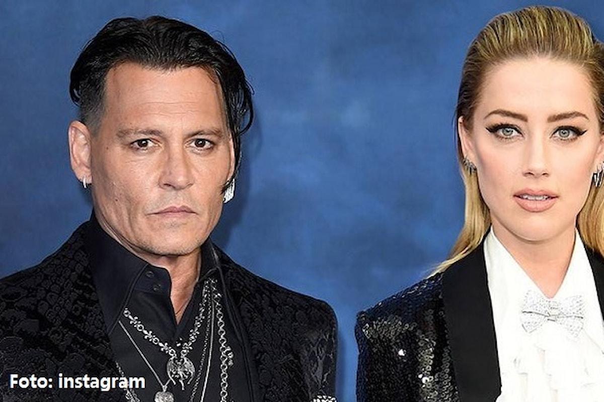 Johnny Depp: Amber Heard mi tradiva con Leonardo DiCaprio e James Franco