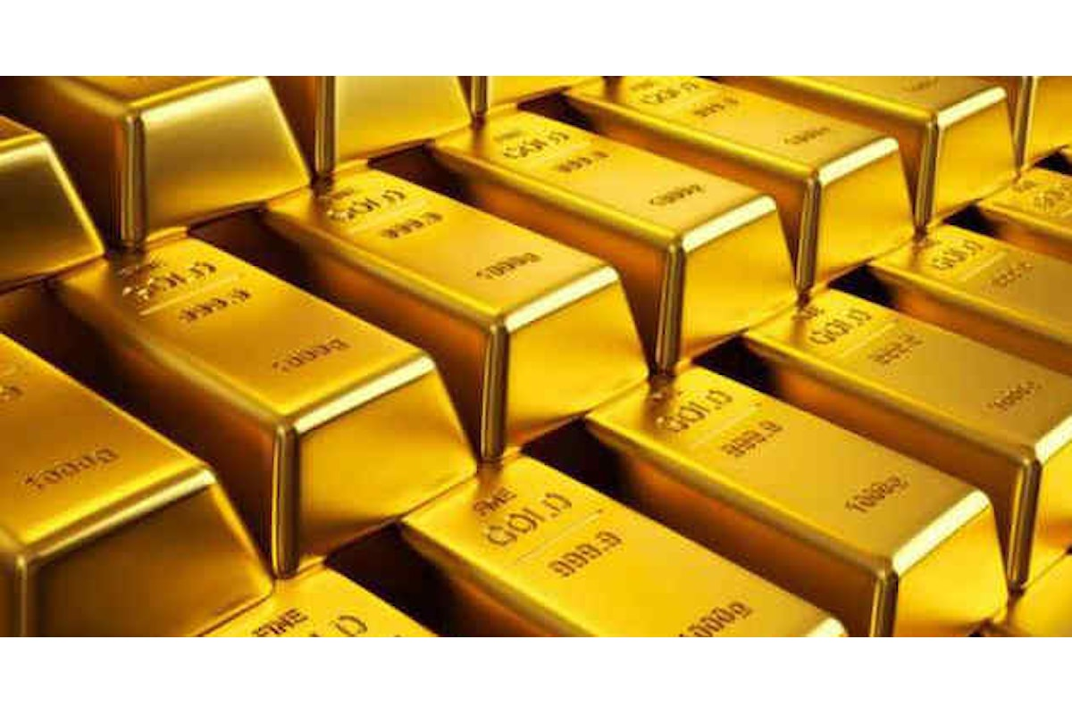 Commodities, l'oro finalmente raggiunge il traguardo dei 1800