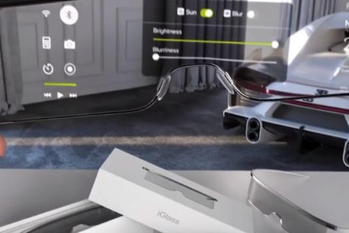Ecco come potrebbero essere gli Apple Glass secondo questo video concept