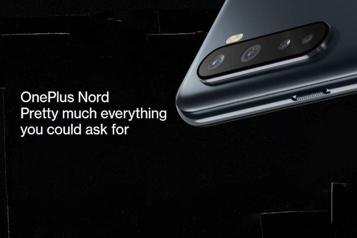 OnePlus Nord è stato presentato ufficialmente: il primo smartphone di fascia media di OnePlus ad un prezzo ottimo