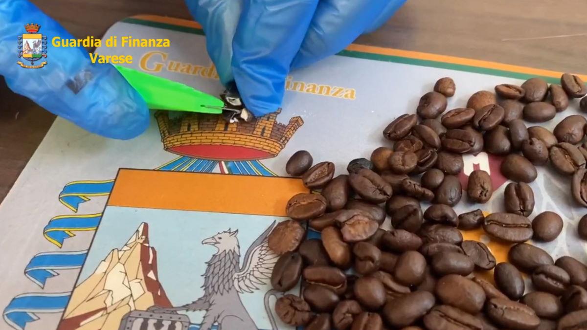 Dalla Colombia chicchi di caffè farciti alla cocaina