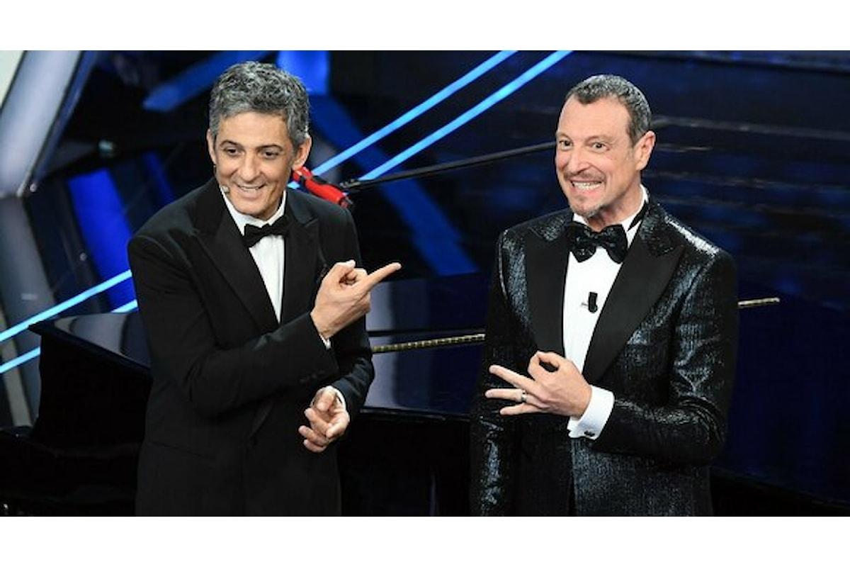 Sanremo 2021, confermata la coppia Amadeus Fiorello