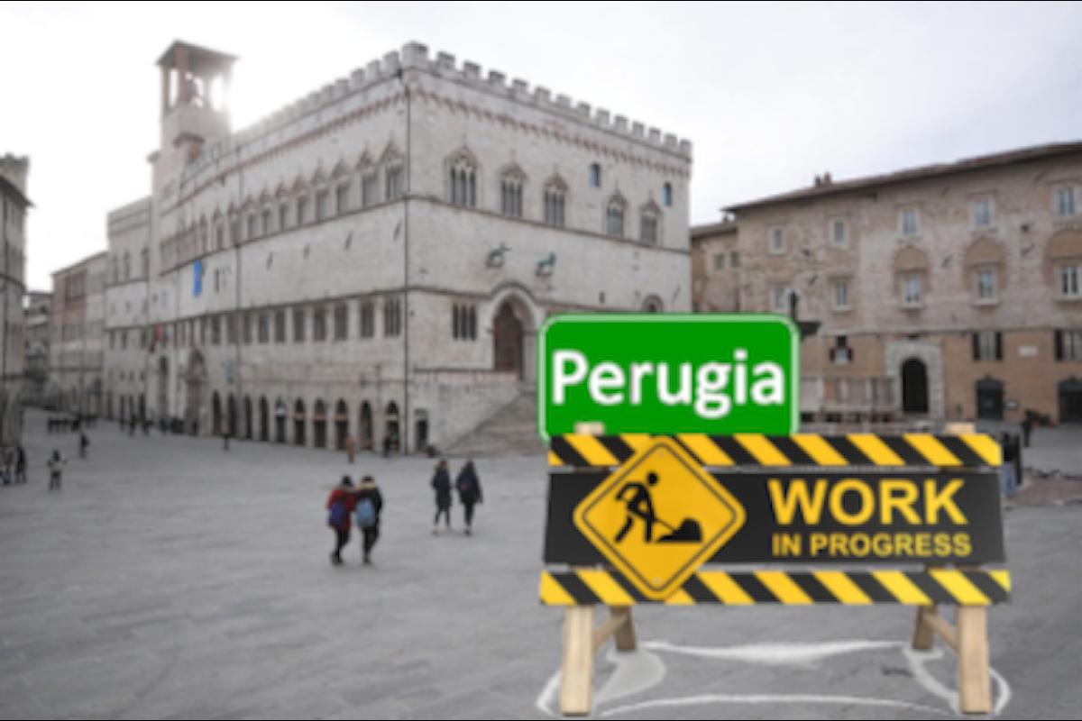 """CANTIERI (futuri) IN QUEL DI PERUGIA. Una """"singolarità politica"""" a Perugia...ma che potrebbe essere di qualsiasi altra città del Paese!"""