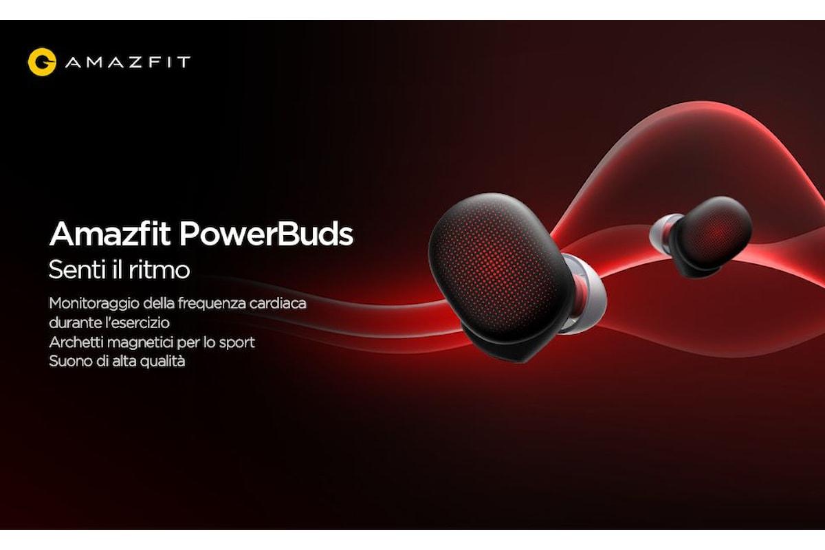 Amazfit PowerBuds: gli auricolari perfetti per gli sportivi, ma non solo
