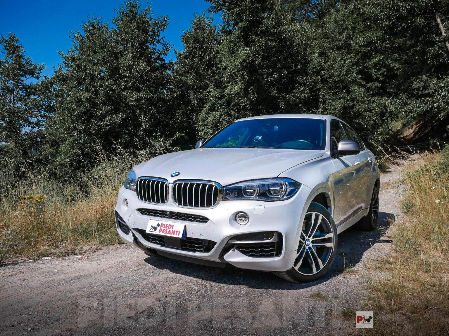 BMW X6 M50d: quando il diesel non rinuncia alla cattiveria