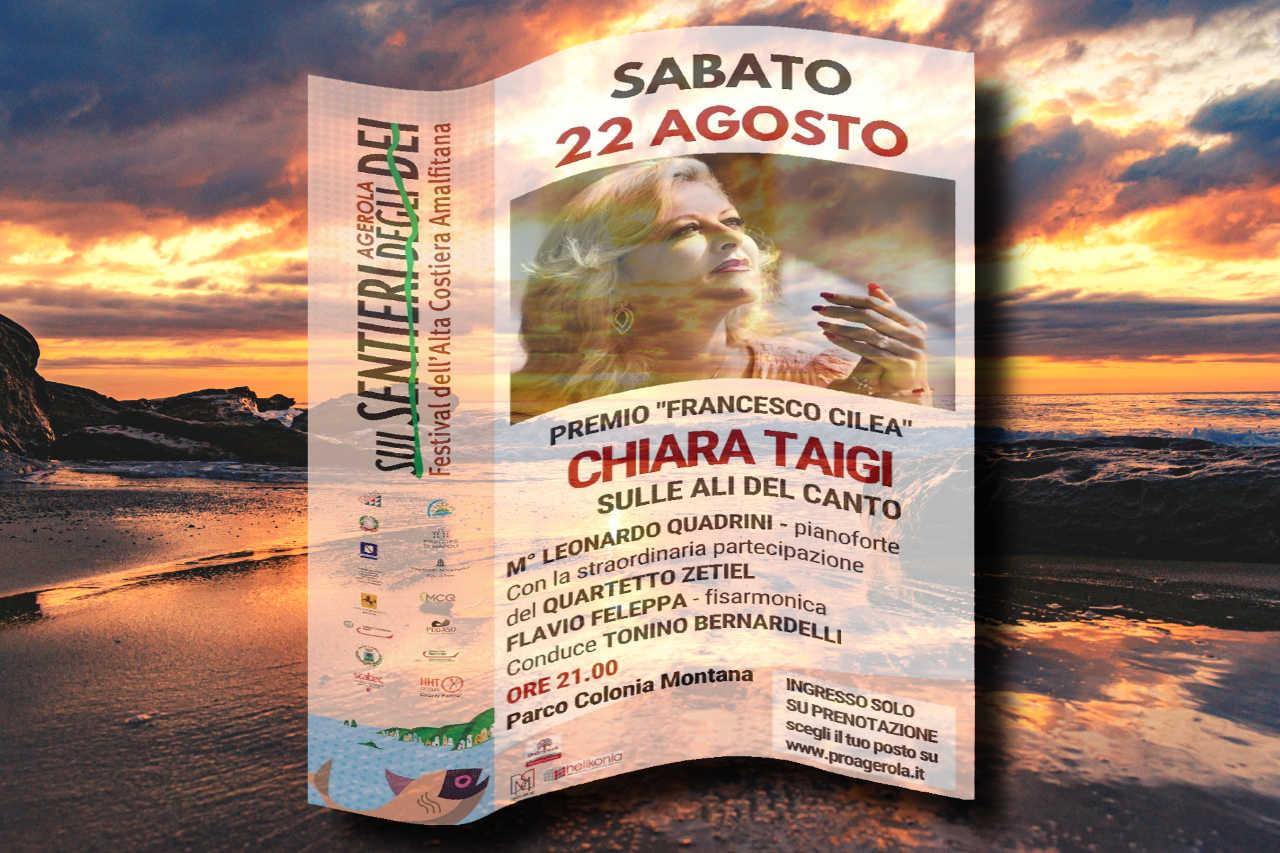 """Chiara Taigi - Concerto """"Sulle Ali del Canto... Incontro con gli Dei"""" - Premio Francesco Cilea - Agerola - 22 Agosto 2020"""