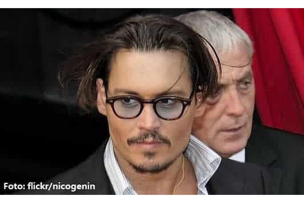 Johnny Depp in grande forma al Festival internazionale del cinema di San Sebastián