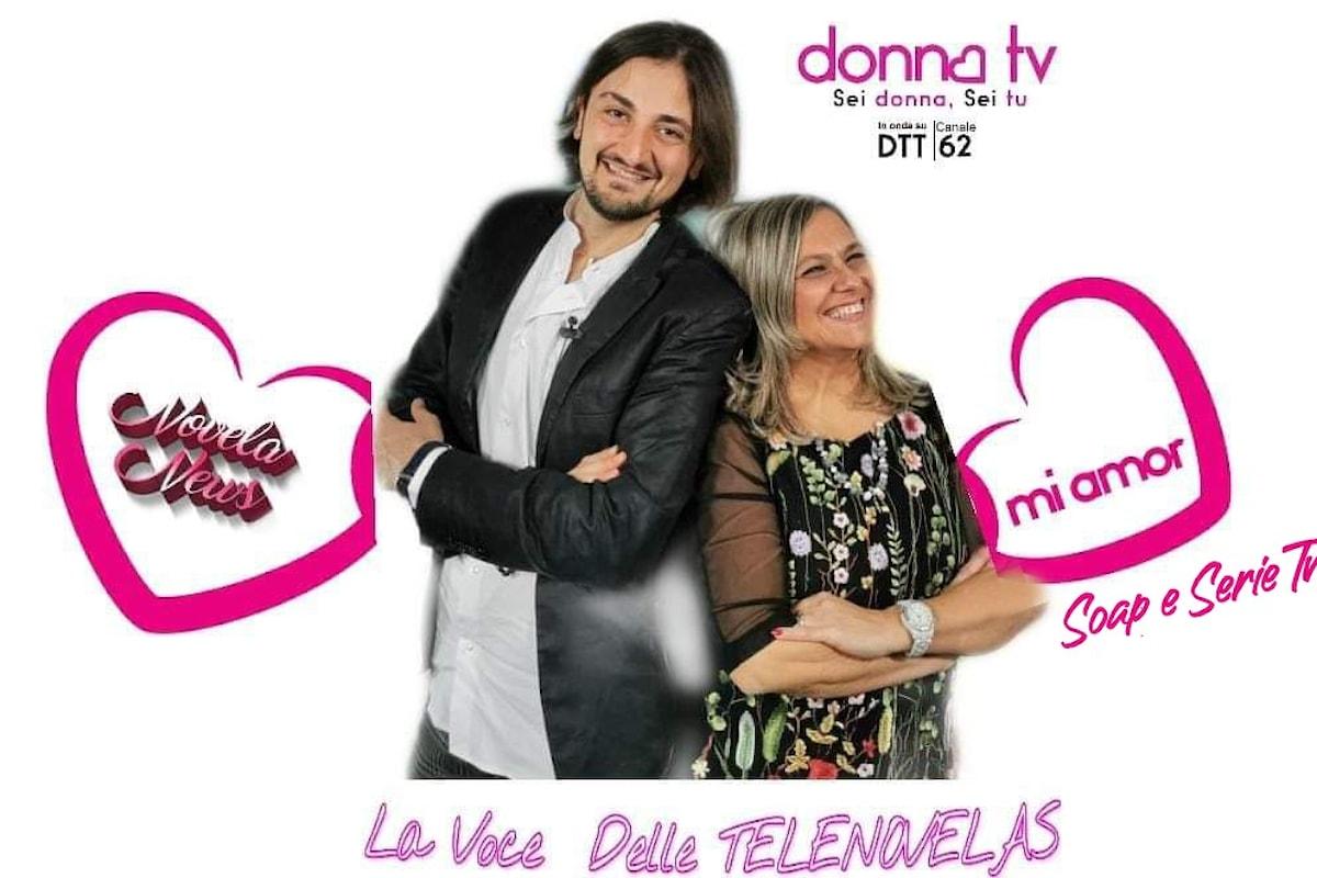 Su Donna Tv arriva  MI AMOR SOAP E SERIE TV