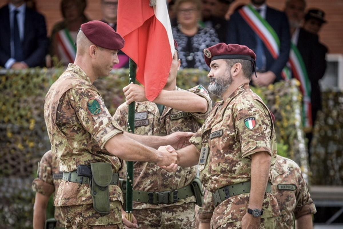 Pistoia: cambio al Comando del 183° Nembo. Il Colonnello Vincenzo Zampella è il nuovo Comandante
