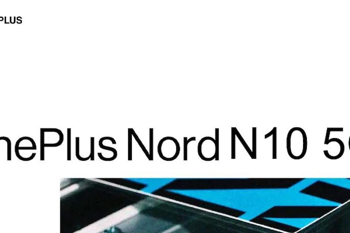 OnePlus Nord N10 5G sarà il nuovo smartphone di fascia media di OnePlus: ecco le sue caratteristiche tecniche