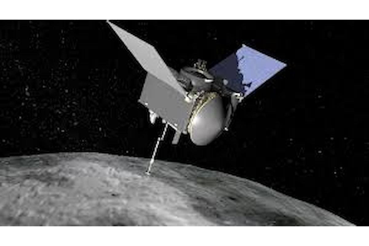 La sonda Nasa Osiris atterrata su un asteroide a 320 milioni di km dalla Terra