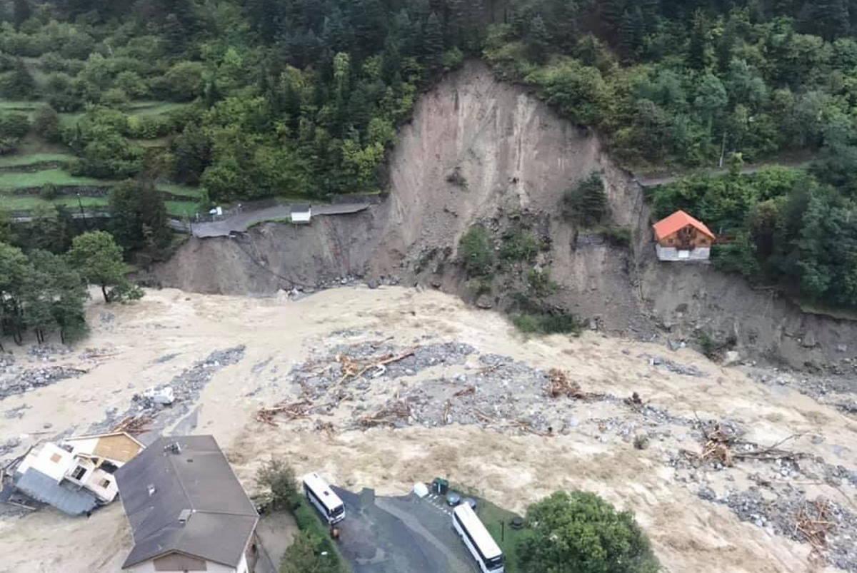 Anche in Francia sono stati gravissimi i danni provocati dal maltempo