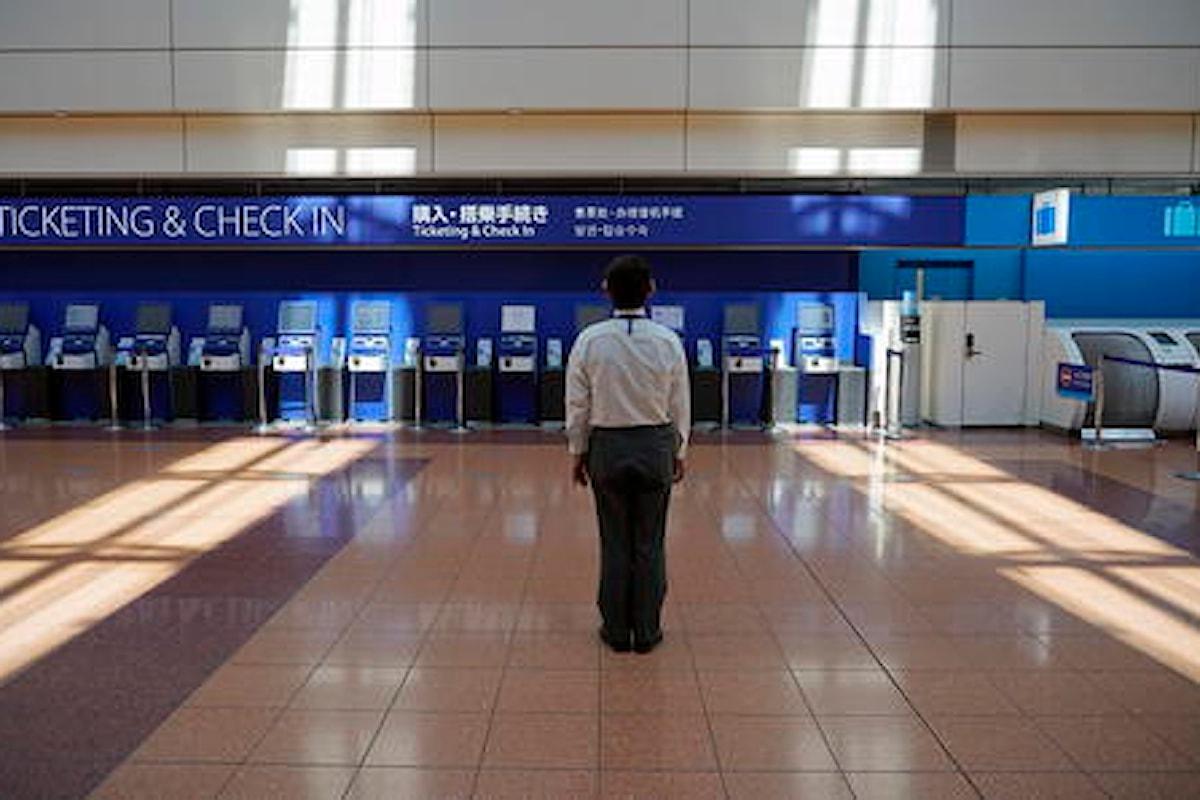 La linea aerea giapponese ANA taglierà 3.500 posti di lavoro a causa della pandemia