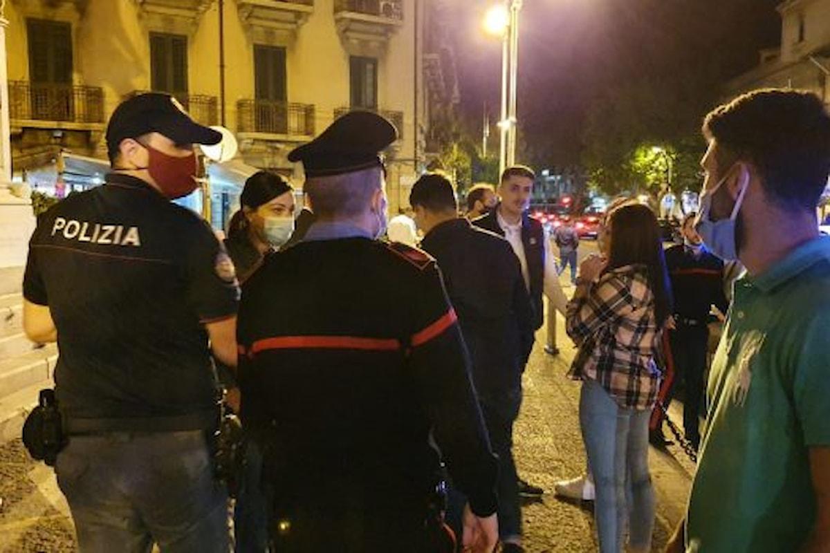 Salerno: i dati della movida, multe salate per 61 persone senza mascherina