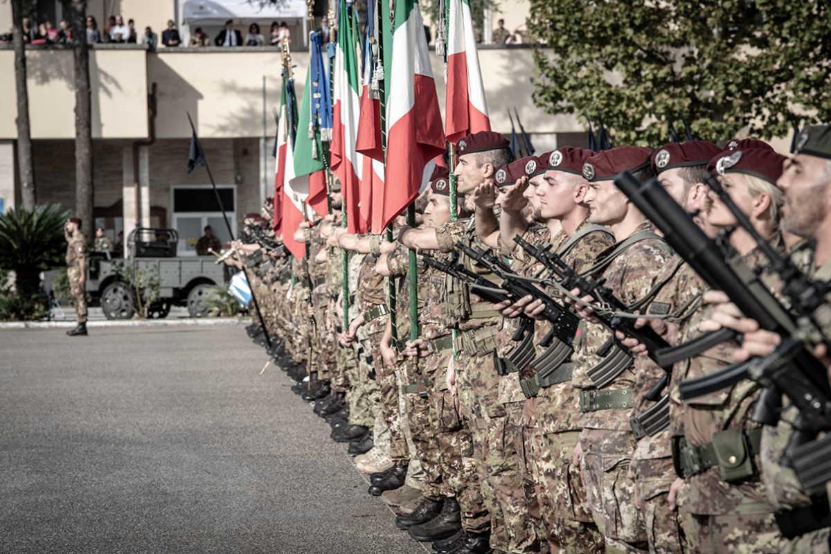 Livorno: la Brigata Paracadutisti Folgore ha commemorato il 78° anniversario della battaglia di El Alamein
