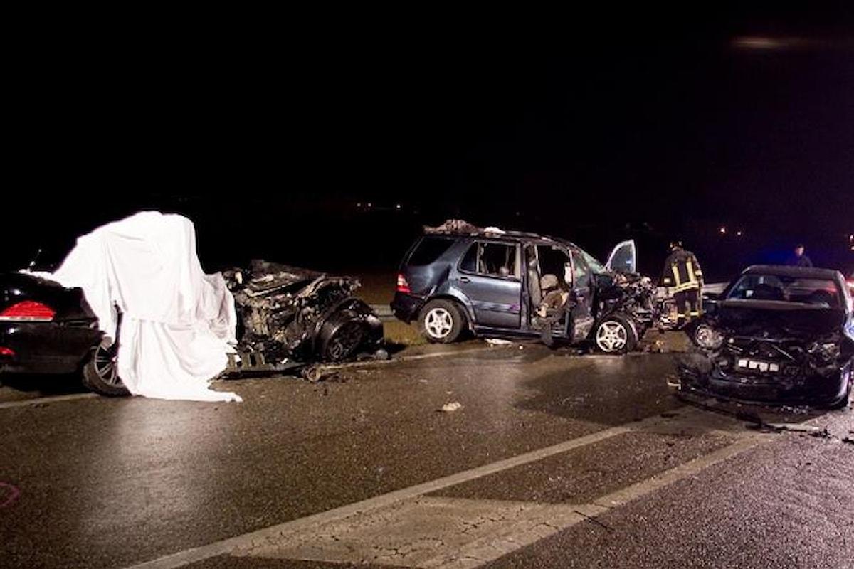 La Campania è maglia nera in Italia per numero di morti della strada