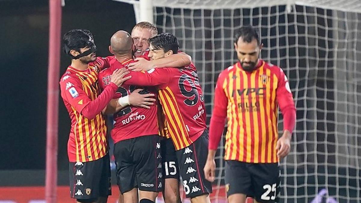 Il Benevento costringe la Juventus sull'1-1