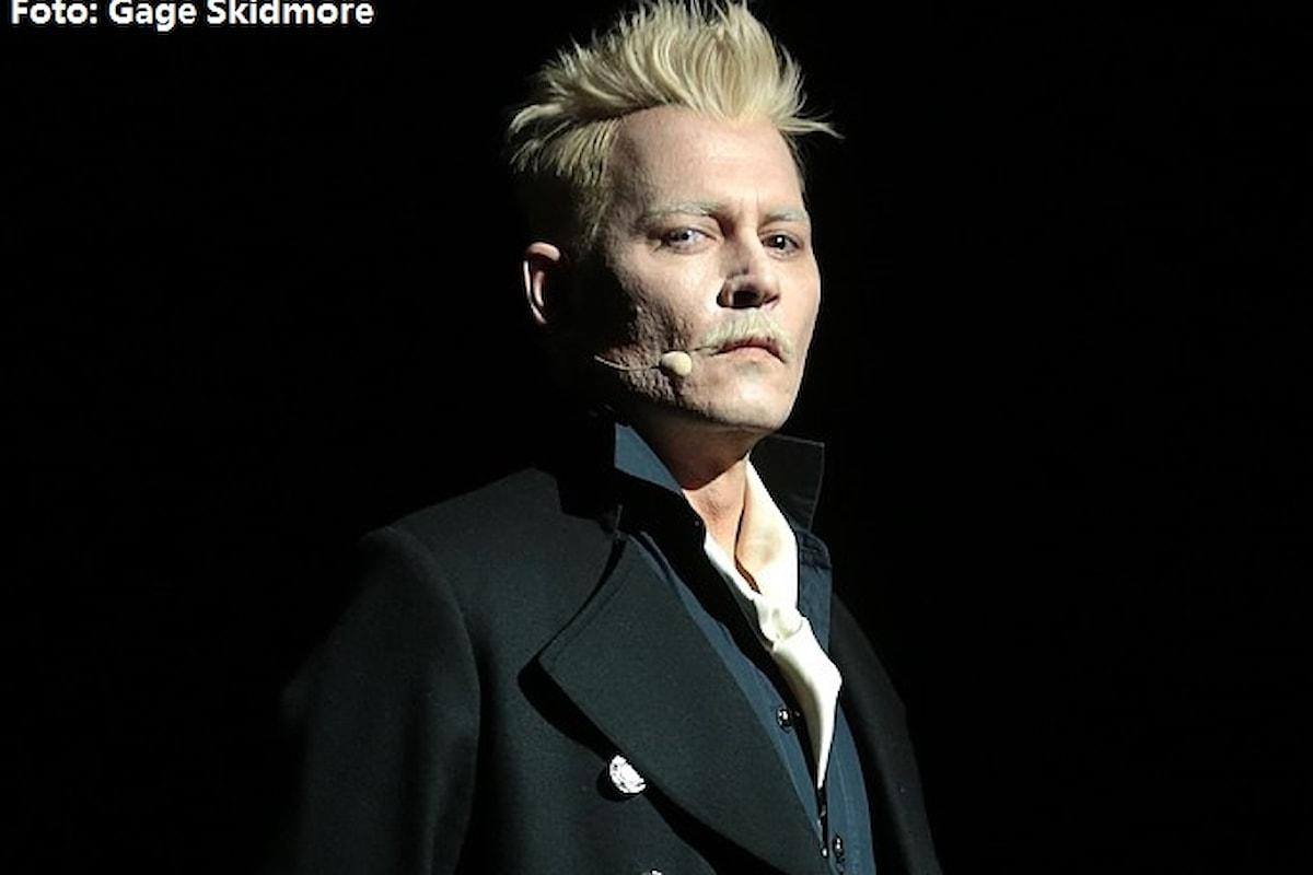Animali Fantastici 3: Johnny Depp riceverà un compenso da capogiro