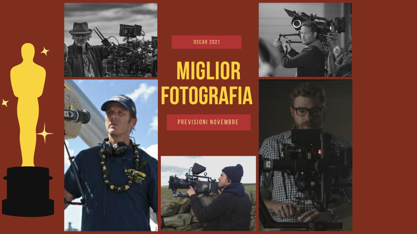 Oscar 2021: quali sono i 10 migliori direttori della fotografia da tenere d'occhio? (previsioni novembre)