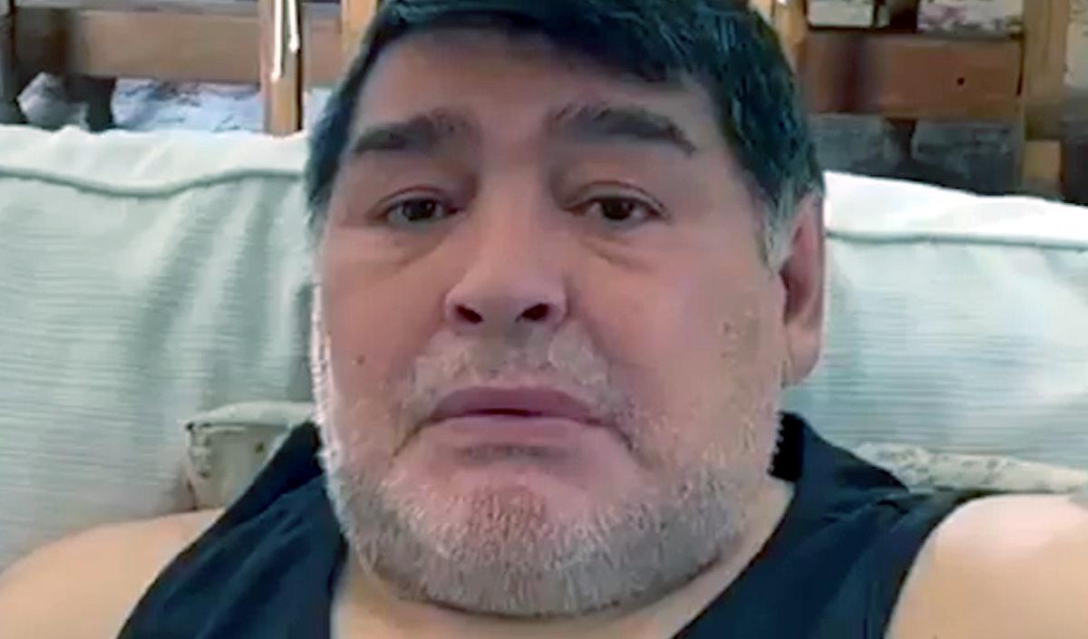 Maradona sarà operato a causa di un ematoma subdurale