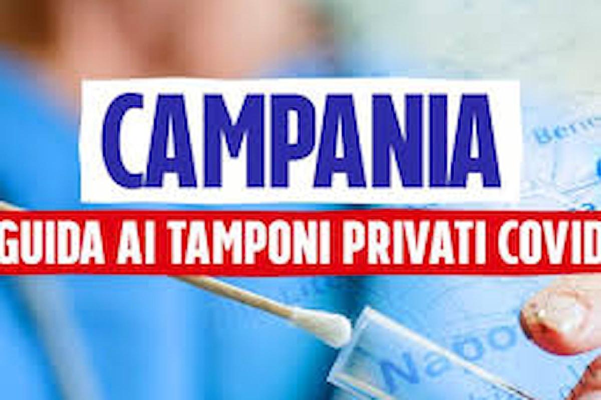 In Campania è obbligatorio richiedere al proprio medico la prescrizione per effettuare il test molecolare SARS-CoV-2 presso laboratori privati