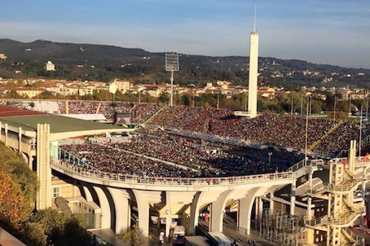 Il Mibact scrive a Comune e Fiorentina: lo stadio Franchi non può essere abbattuto