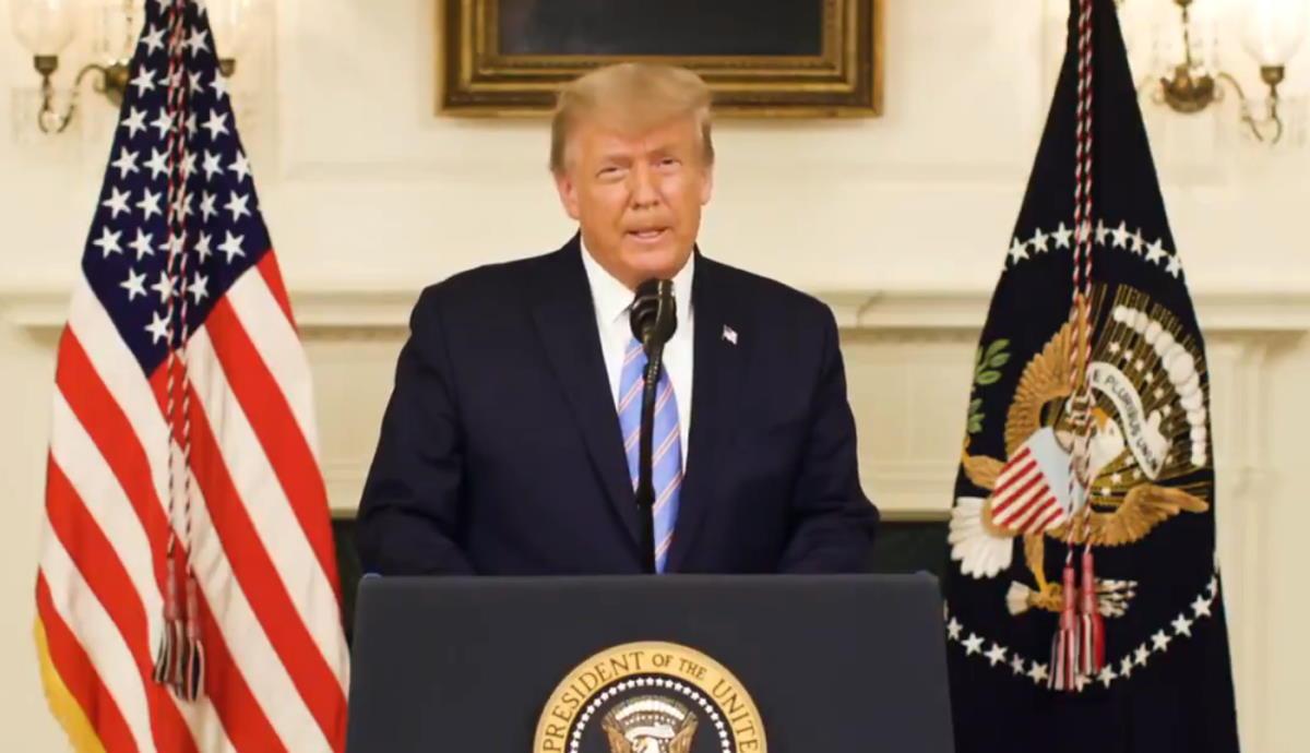 Trump è finalmente rinsavito e ha detto di riconoscere la vittoria di Biden