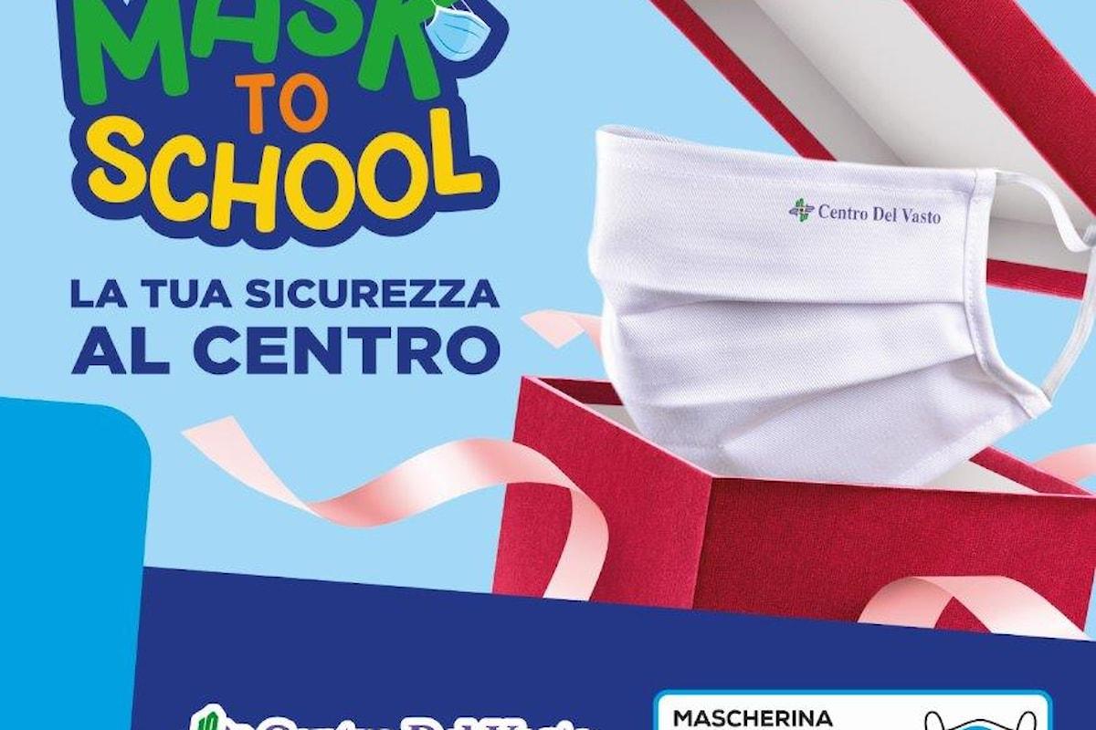 """Provincia di Chieti: Il Centro Commerciale Centro Del Vasto presenta """"MASK TO SCHOOL"""""""