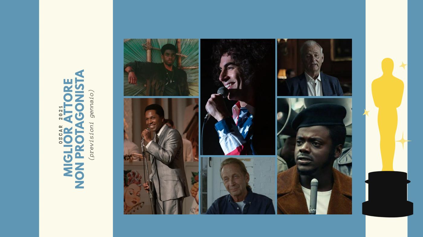 Oscar 2021: quali sono i 10 migliori attori non protagonisti da tenere d'occhio? (previsioni gennaio)