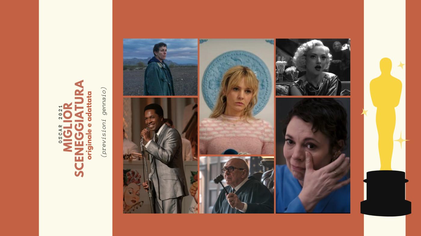 Oscar 2021: quali sono le 10 migliori sceneggiature da tenere d'occhio? (previsioni gennaio)