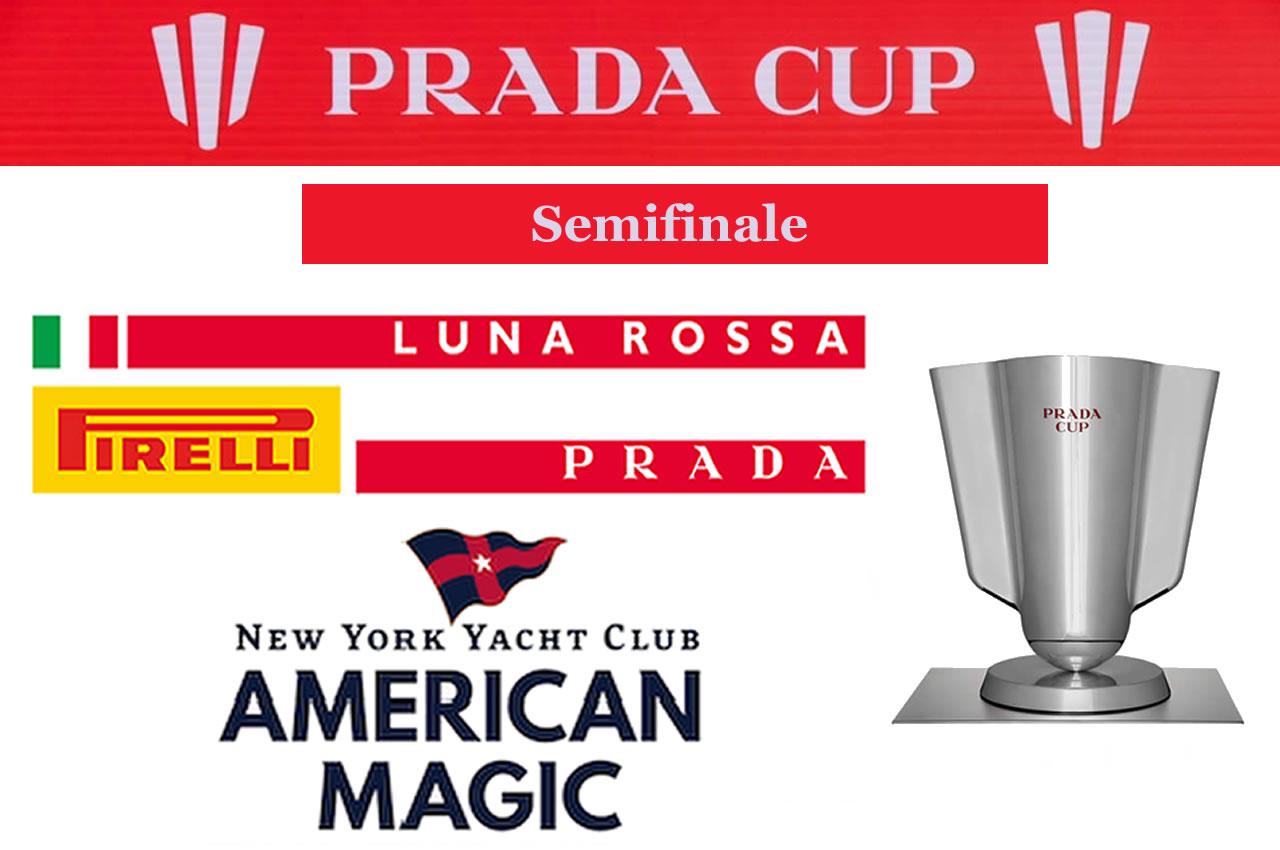 Le semifinali Prada Cup 2021: una doppia Luna Rossa
