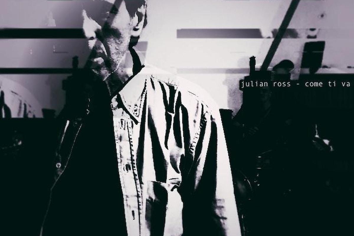 """Julian Ross """"Come ti va"""" è il singolo d'esordio del progetto musicale composto da Dario Andrea Chiricozzi, Danilo Luciani e Federico Forlani"""