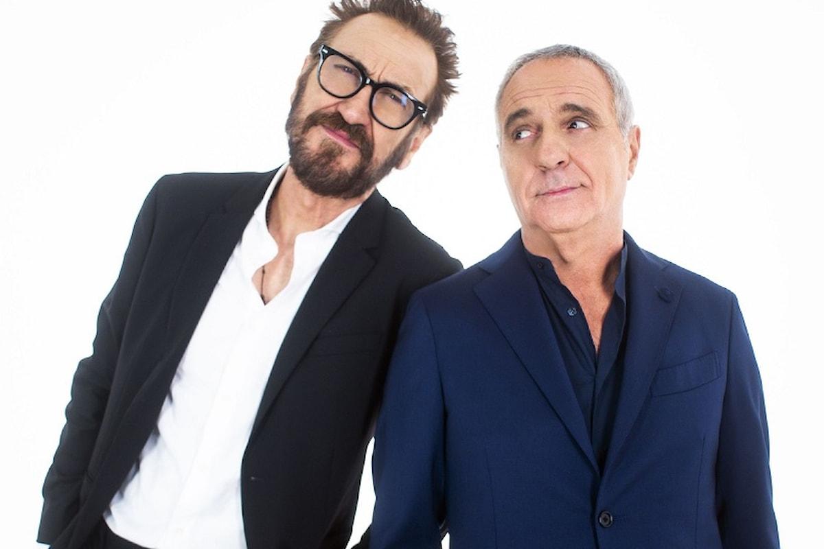 """LUI È PEGGIO DI ME """"sit show"""" con Marco Giallini e Giorgio Panariello"""