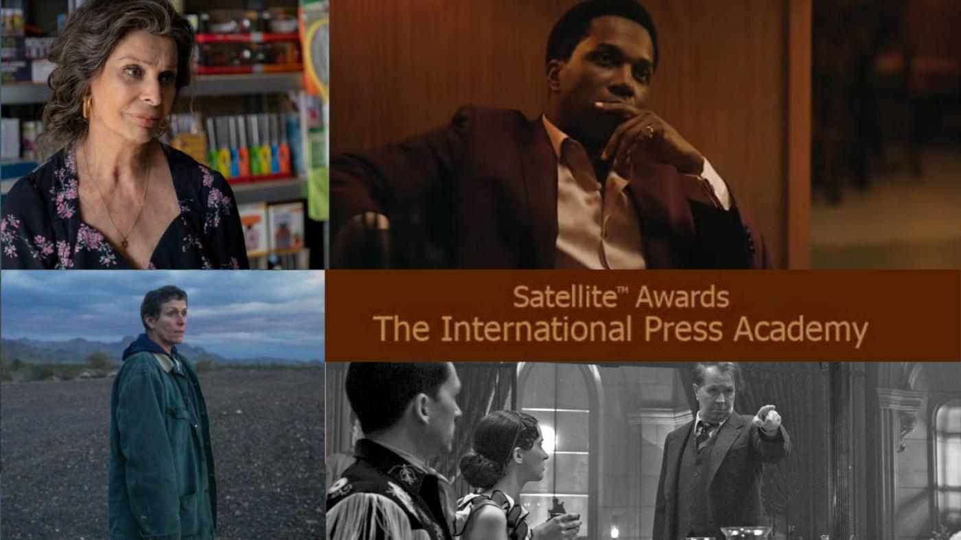 Satellite Awards: Mank, One Night in Miami e Nomadland in vetta. L'Italia conquista 3 nominations