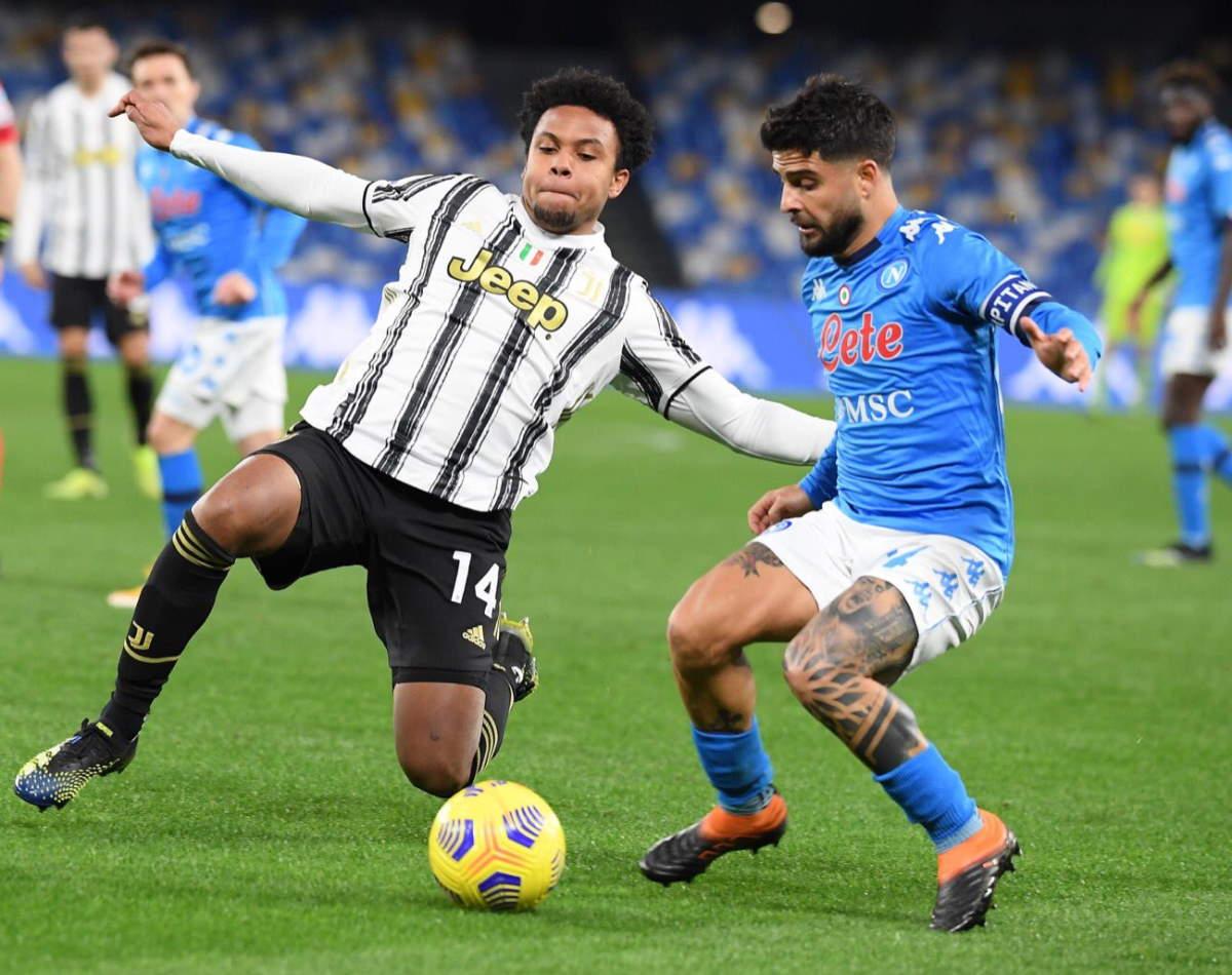 Serie A, il primo big match della 22.giornata Napoli-Juventus finisce 1-0 con gol di Insigne, su rigore!