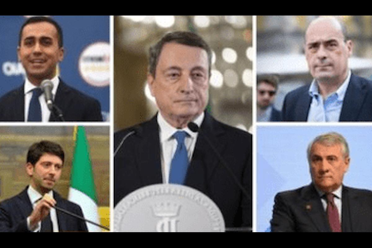 Governo Draghi: partito il toto-ministri, le previsioni dei bookmaker