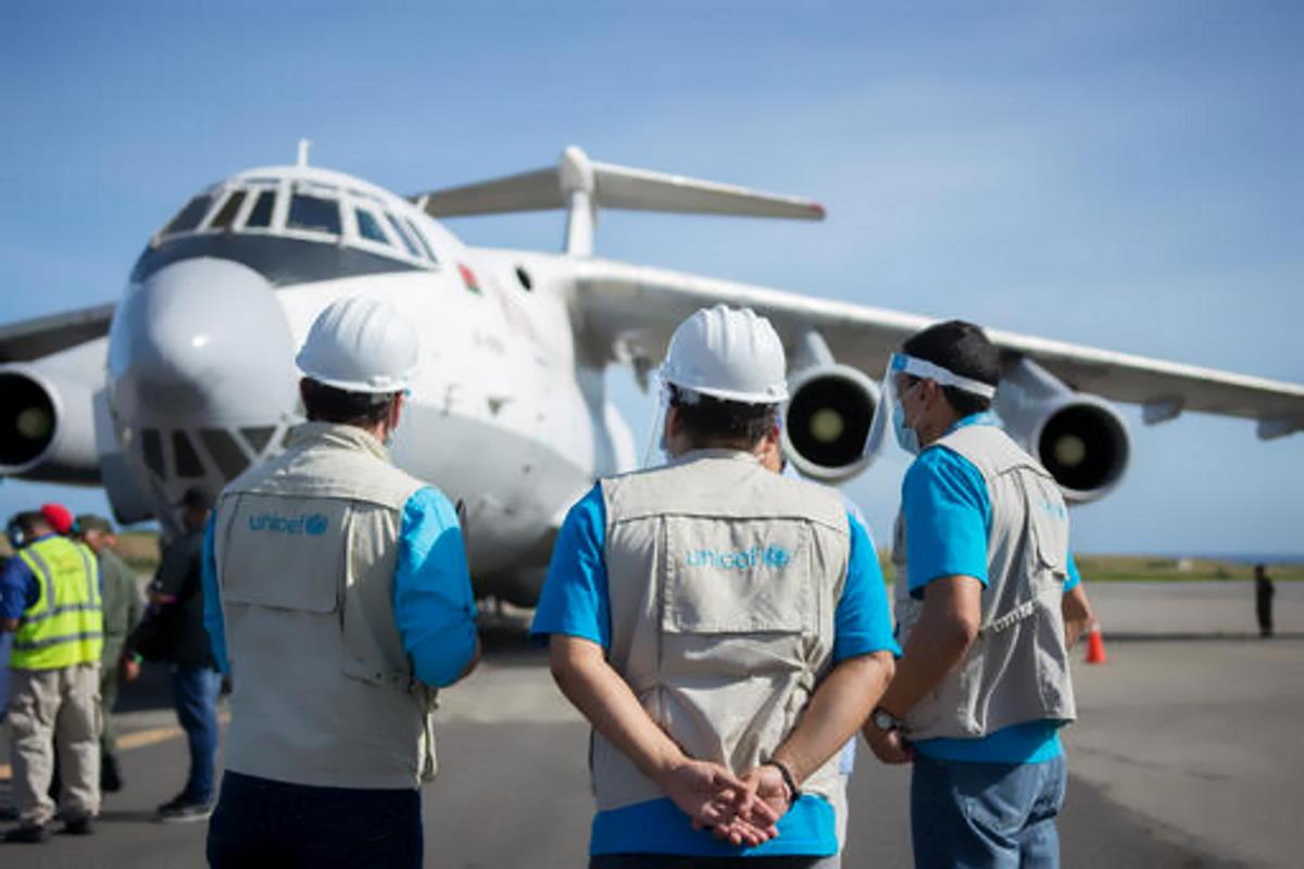 Humanitarian Airfreight Initiative, l'iniziativa Unicef a supporto (anche) della COVAX Facility