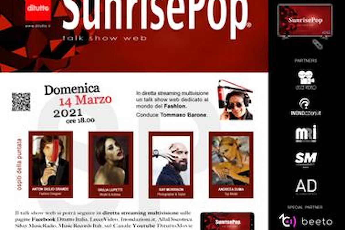 SunRise Pop, nuova puntata del programma by DiTutto il 14 marzo