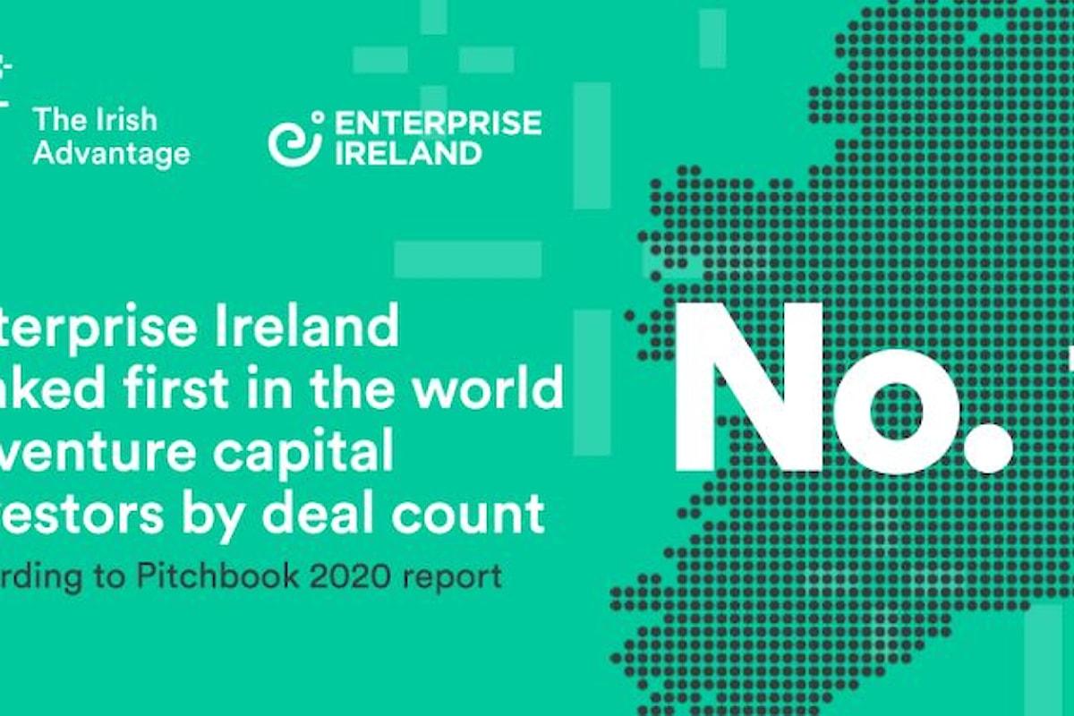 Enterprise Ireland è il 1° Venture Capital del mondo: 351 operazioni chiuse nel 2020